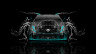 Cadillac-CTS-V-Hennessey-Tuning-Front-Water-Car-2014-Azure-Neon-HD-Wallpapers-design-by-Tony-Kokhan-[www.el-tony.com]