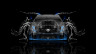 Cadillac-CTS-V-Hennessey-Tuning-Front-Water-Car-2014-Blue-Neon-HD-Wallpapers-design-by-Tony-Kokhan-[www.el-tony.com]