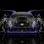 Cadillac CTS-V Hennessey Tuning Front Water Car 2014