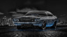 Dodge-Challenger-RS-1970-Muscle-Tuning-Crystal-City-Car-2014-Blue-Neon-HD-Wallpapers-design-by-Tony-Kokhan-[www.el-tony.com]