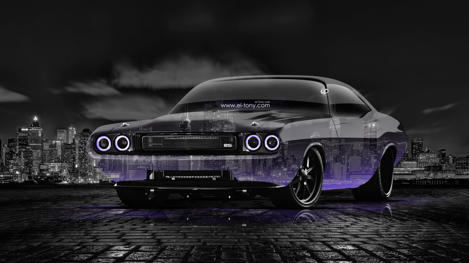 Dodge Challenger Muscle Crystal City Car 2014 El Tony