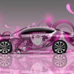 Honda Accord Coupe Side Anime Aerography Car 2014