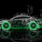 Honda Accord Coupe Side Water Car 2014