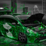 Honda Fit JDM Tuning Anime Aerography City Car 2014