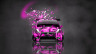 Honda-Fit-Tuning-JDM-Front-Domo-Kun-Toy-Car-2014-Art-Pink-Colors-HD-Wallpapers-design-by-Tony-Kokhan-[www.el-tony.com]