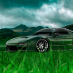 Honda NSX JDM Crystal Nature Car 2014