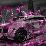 Lamborghini Gallardo Anime Aerography City Car 2014