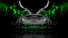 Lamborghini-Murcielago-Front-Water-Car-2014-el-Tony-Art-Green-Neon-Effects-HD-Wallpapers-design-by-Tony-Kokhan-[www.el-tony.com]
