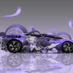 Lamborghini Reventon Roadster Anime Aerography Car 2014