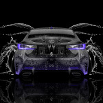 Lexus RC350 Back Water Car 2014