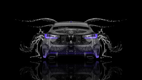 Lexus-RC350-Back-Water-Car-2014-Violet-Neon-HD-Wallpapers-design-by-Tony-Kokhan-[www.el-tony.com]