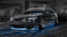Mazda-3-GT-JDM-Crystal-City-Car-2014-Blue-Neon-HD-Wallpapers-design-by-Tony-Kokhan-[www.el-tony.com]
