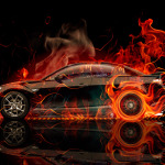 Mazda RX8 JDM Side Fire Car 2014