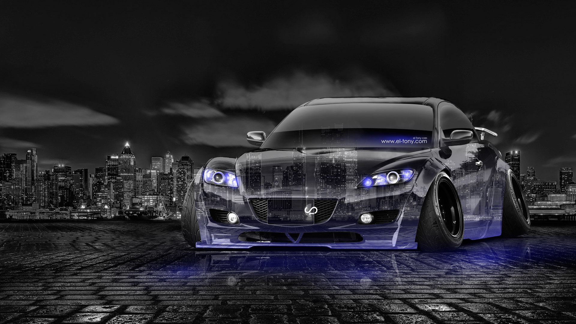 Mazda Rx8 Jdm Tuning Crystal City Car 2014 El Tony