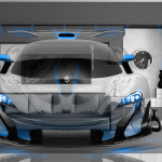McLaren P1 GTR Fantasy Crystal Home Fly Car 2014