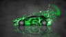 Mitsubishi-Eclipse-JDM-Side-Domo-Kun-Toy-Car-2014-Art-Green-Colors-HD-Wallpapers-design-by-Tony-Kokhan-[www.el-tony.com]