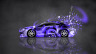 Mitsubishi-Eclipse-JDM-Side-Domo-Kun-Toy-Car-2014-Art-Violet-Colors-HD-Wallpapers-design-by-Tony-Kokhan-[www.el-tony.com]