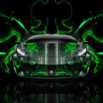 Monster Energy Lamborghini Murcielago Front Plastic Car 2014