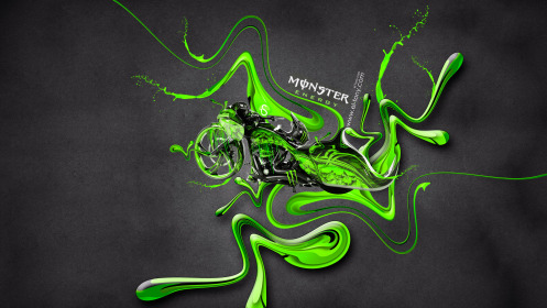 Monster-Energy-Moto-Chopper-Fantasy-Plastic-Acid-Mix-2014-Green-Colors-HD-Wallpapers-design-by-Tony-Kokhan-[www.el-tony.com]