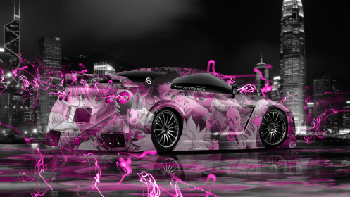 Nissan-GTR-R35-Tuning-Anime-Aerography-City-Car-2014-Pink-Neon-Effects-HD-Wallpapers-design-by-Tony-Kokhan-[www.el-tony.com]