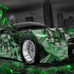 Nissan GTR R35 Tuning JDM Anime Aerography City Car 2014