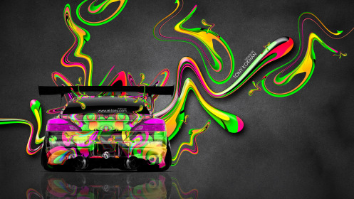Nissan-Silvia-S15-JDM-Back-Super-Plastic-Aerography-Car-2014-Multicolors-4K-Wallpapers-design-by-Tony-Kokhan-[www.el-tony.com]