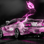 Nissan Skyline GTR R33 JDM Anime Aerography City Car 2014