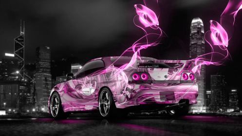 Nissan-Skyline-GTR-R33-JDM-Anime-Girl-Aerography-City-Car-2014-Art-Pink-Neon-Energy-HD-Wallpapers-design-by-Tony-Kokhan-[www.el-tony.com]
