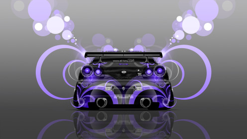 Nissan-Skyline-GTR-R34-JDM-Back-Abstract-Aerography-Car-2014-Photoshop-Art-Violet-Neon-Effects-4K-Wallpapers-design-by-Tony-Kokhan-[www.el-tony.com]