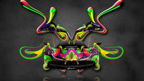 Pagani-Huayra-Open-Doors-Super-Plastic-Abstract-Aerography-Car-2014-Art-Multicolors-HD-Wallpapers-design-by-Tony-Kokhan-[www.el-tony.com]