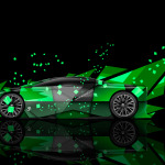Peugeot Onyx Side Abstract Aerography Car 2014