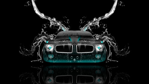 Pontiac-Firebird-Front-Water-Car-2014-Azure-Neon-HD-Wallpapers-desgin-by-Tony-Kokhan-[www.el-tony.com]