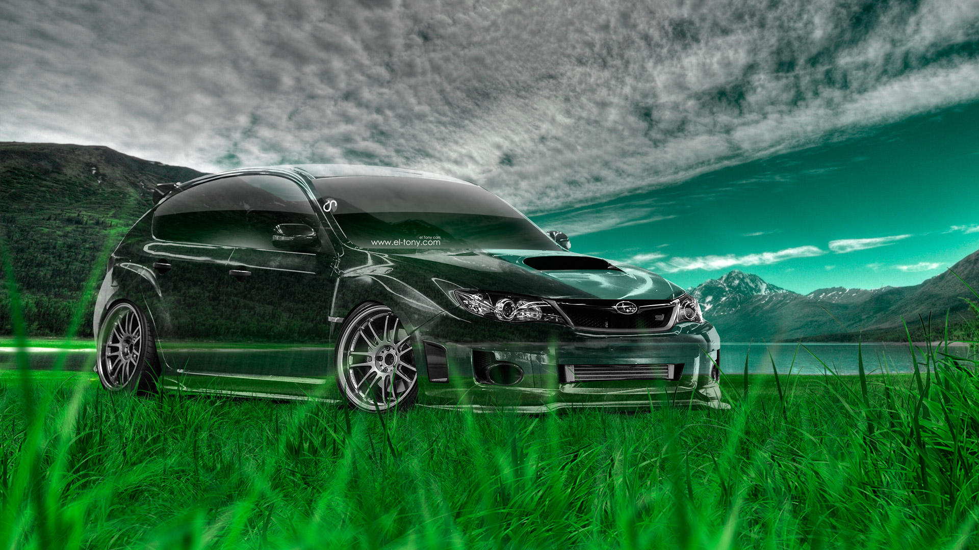 Good Beau Subaru Impreza WRX STI JDM Crystal Nature Car 2014