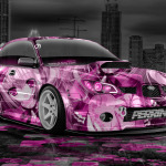 Subaru Impreza WRX STI JDM Anime Aerography City Car 2014