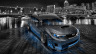 Subaru-Impreza-WRX-STI-JDM-Tuning-Crystal-City-Car-2014-Blue-Neon-HD-Wallpapers-design-by-Tony-Kokhan-[www.el-tony.com]