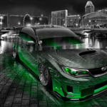Subaru Impreza WRX STI JDM Tuning Crystal City Car 2014
