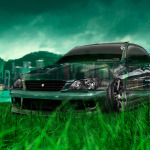 ... Toyota Altezza JDM Tuning Crystal Nature City Car 2014