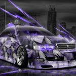 Toyota Chaser JZX100 Tuning Anime Aerography City Car 2014