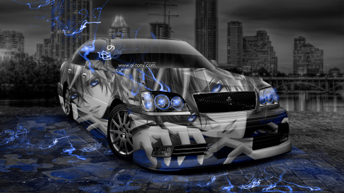 Toyota-Crown-Athlete-JDM-Anime-Aerography-City-Car-2014-Blue-Neon-Effects-HD-Wallpapers-design-by-Tony-Kokhan-[www.el-tony.com]