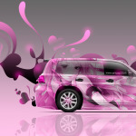 Toyota Land Cruiser 200 Anime Aerography Car 2014