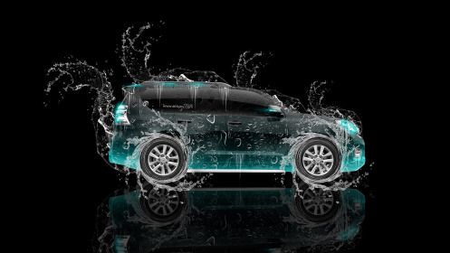 Toyota-Land-Cruiser-Prado-Side-Water-Car-2014-Azure-Neon-HD-Wallpapers-design-by-Tony-Kokhan-[www.el-tony.com]