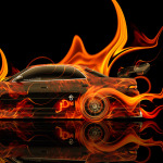 Toyota Mark2 JZX90 JDM Tuning Side Fire Car 2014