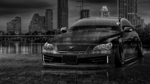Toyota-Mark-X-JDM-Tuning-Crystal-City-Car-2014-Black-WhiteHD-Wallpapers-design-by-Tony-Kokhan-[www.el-tony.com]