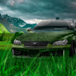Toyota Mark X JDM Tuning Crystal Nature Car 2014