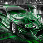 Toyota Supra JDM Anime Bleach Aerography City Car 2014