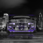4K Wallpapers Toyota Supra JDM Front Crystal City Car 2014
