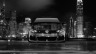 Volkswagen-Golf-R-Front-Crystal-City-Car-2014-Black-White-HD-Wallpapers-design-by-Tony-Kokhan-[www.el-tony.com]