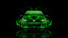 Volkswagen-Golf-R-Front-Green-Fire-Abstract-Car-2014-HD-Wallpapers-design-by-Tony-Kokhan-[www.el-tony.com]