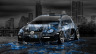 Volkswagen-Golf-R32-Tuning-Anime-Aerography-City-Car-2014-Blue-Colors-HD-Wallpapers-design-by-Tony-Kokhan-[www.el-tony.com]