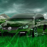 Volkswagen Golf Tuning Crystal Nature Car 2014